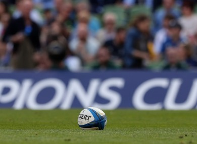 Champions Cup: returns on 19 September.