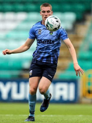 Jack Keaney, pictured above, was on target for UCD.