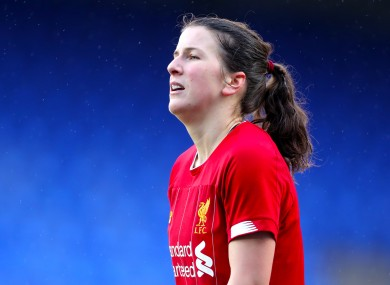 Ireland international Niamh Fahey was confirmed as Liverpool's new captain earlier this week.