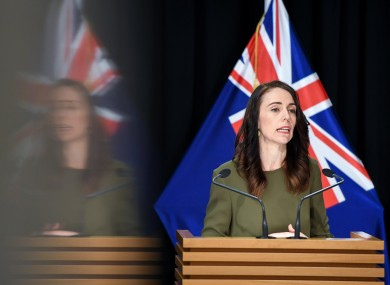 Jacinda Ardern made the announcement today.