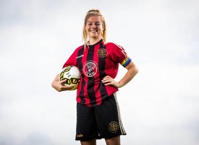 Bohemians captain Niamh Kenna.