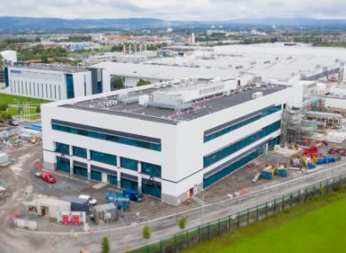 The Regeneron facility in Limerick.