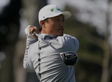 Li Haotong has enjoyed a promising start at the PGA Championship.