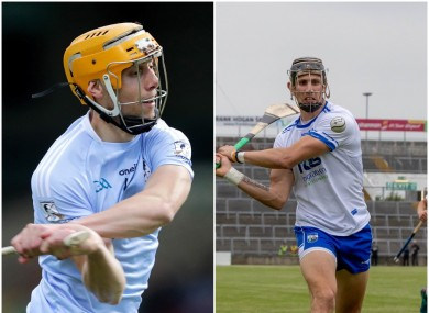 Adrian Breen and Maurice Shanahan in good scoring form today.