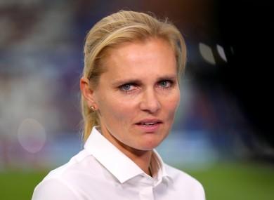 Sarina Wiegman (file pic).