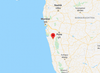 The incident happened in the town of Mahad, about 120km away from Mumbai