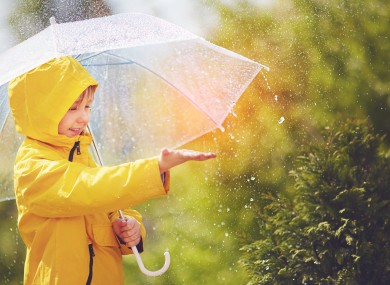 Wind and rain to last into next week, according to forecasters. Stock image.