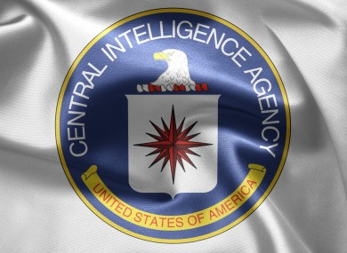 Stock image of CIA logo.