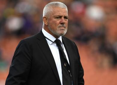 Chiefs coach Warren Gatland during the Round 4 Super Rugby match.