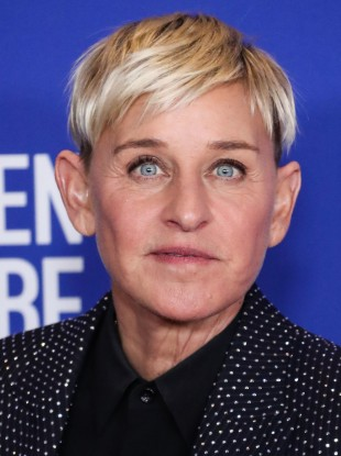 Ellen DeGeneres pictured at the 77th Annual Golden Globe Awards in LA in January.