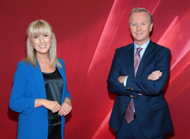 Matt Cooper and Ciara Doherty will host the new season of The Tonight Show