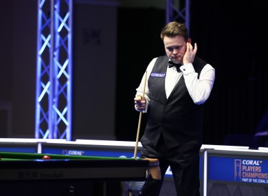 Shaun Murphy (file photo).
