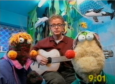 Zig and Zag on the Big Brekfast with host Chris Evans.