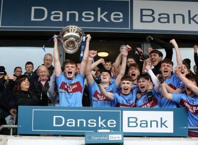 St Michael's College Enniskillen were the 2018/19 champions.