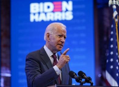 Joe Biden is preparing for his first debate with Donald Trump.