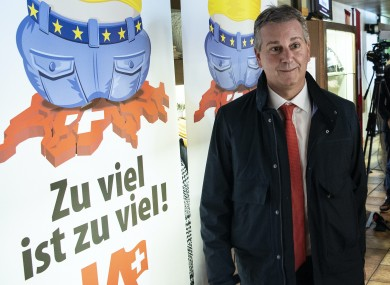 Swiss People's Party president Marco Chiesa