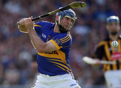 Eoin Kelly pictured in action during his Tipperary senior career.