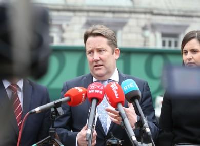 Minister for Housing Darragh O'Brien
