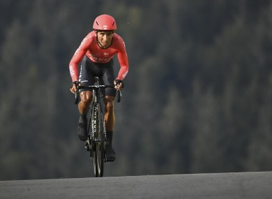 Quintana during this year's Tour de France.