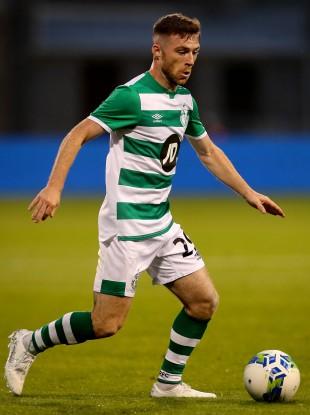 Jack Byrne of Shamrock Rovers.
