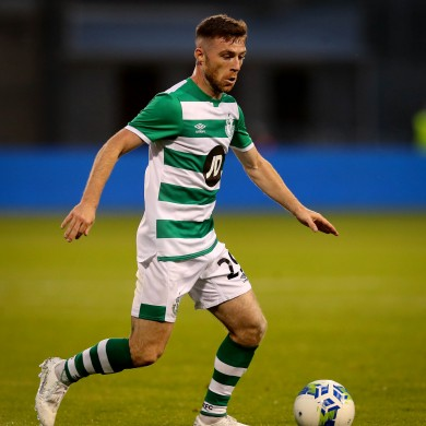 Jack Byrne of Shamrock Rovers.
