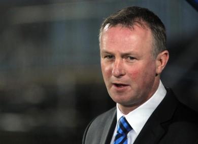 Former Shamrock Rovers boss Michael O'Neill.