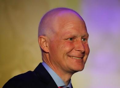 Pat Smullen pictured last December.