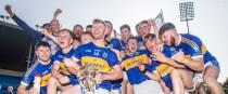 Kiladangan players celebrate their Tipperary senior final win.