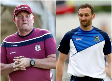Galway's Tony Ward and Tipperary's Declan Fanning are in opposition in tonight's Limerick final.