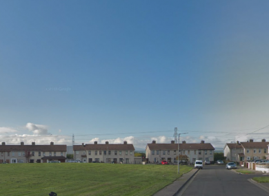 The incident happened at Cherry Orchard Park in Ballyfermot, Dublin 10