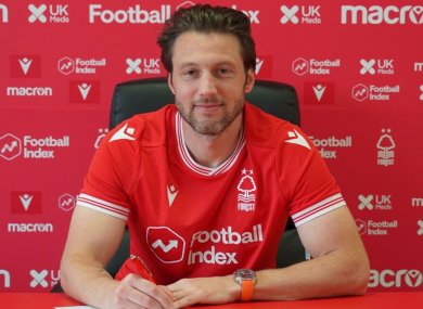 Arter signs deal with Nottingham Forest.