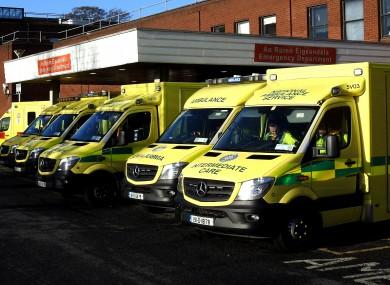 Beaumont Hospital in Dublin.