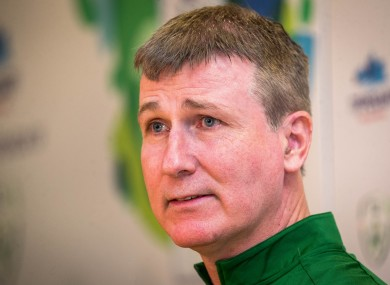 File photo of Stephen Kenny.