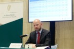 Professor Philip Nolan at a press briefing in the Department of Health this evening.