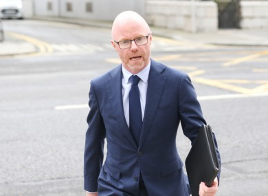 File image of Health Minister Stephen Donnelly.