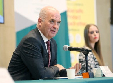 Chief Medical Officer Dr Tony Holohan speaking at a press briefing last week.