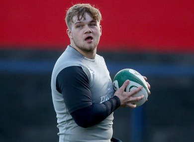 Reid has signed a six-week deal with Munster.