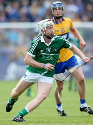 A teenage Cian Lynch during his championship debut against Clare.