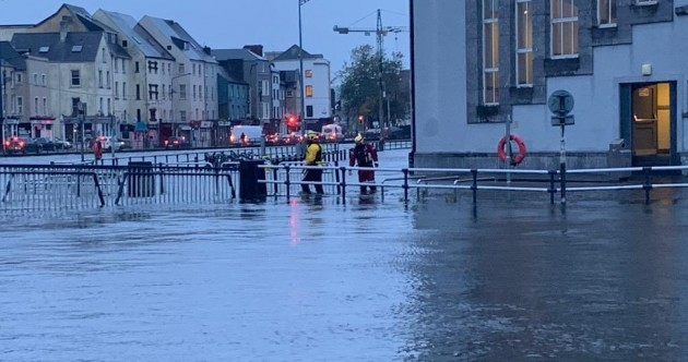 Civil Defence volunteers aid clean-up after significant flooding hits Cork city