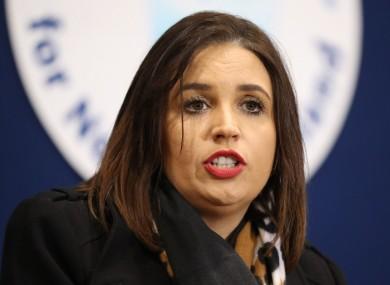 File image of Elisha McCallion.