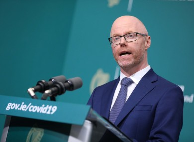 Minister for Health Stephen Donnelly (file photo).