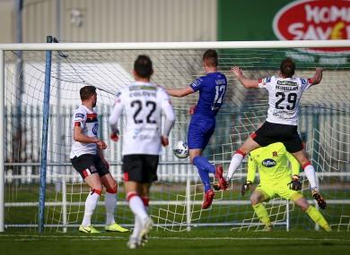 Winner: Martin headed the game's only goal.