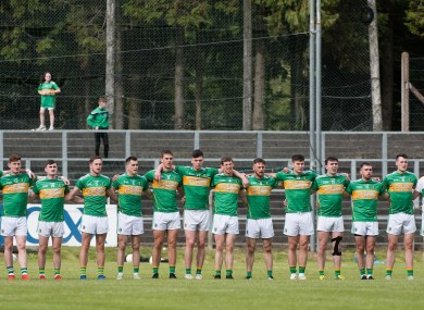 The Leitrim football team pictured in 2019.