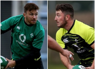 Hugo Keenan and Will Connors start for Ireland.