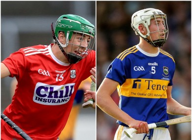 Ben Cunningham top scorer for Cork minors today while Eoghan Connolly will captain the Tipperarry U20 side.