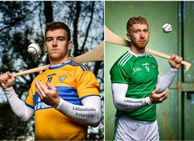 Tony Kelly and Cian Lynch were speaking at today's Littlewoods Ireland GAA launch.