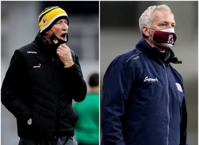 Brian Cody and Shane O'Neill.