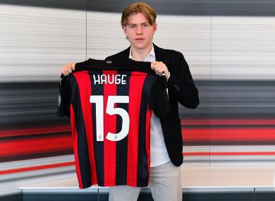 New kid on the block: Jens Petter Hauge.