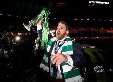 O'Brien admired Roy Keane's winning attitude.