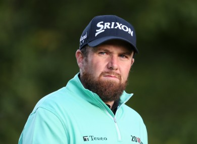 Shane Lowry shot a 65 today.
